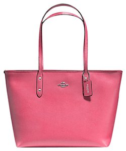 Coach City Tote in Strawberry Pink