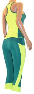UPHILL FASHION SEXY HOT GREEN WOMEN SPORT TRACKSUIT CASUAL YOGA WORKOUT FITNESS
