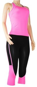 UPHILL FASHION SEXY HOT PINK WOMEN SPORT TRACKSUIT CASUAL YOGA WORKOUT FITNESS