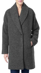 7 For All Mankind Wool Cocoon Pea Coat