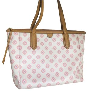 Fossil Tote in Pink