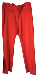 Calvin Klein Trouser Pants red