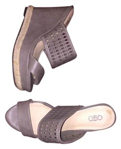 Cato New Grey Wedges