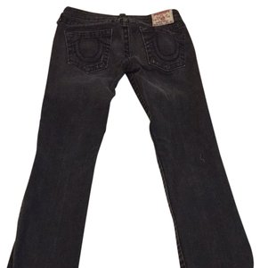 True Religion Dark Boot Cut Jeans-Medium Wash