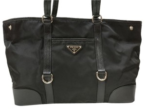 Prada Tessuto Nylon Leather New Shoulder Bag