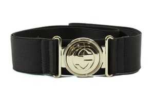 Gucci GUCCI 290186 Interlocking GG Stretch Buckle Belt, Brown 95-38 DISPLAY