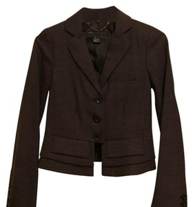 Marc by Marc Jacobs Brown Blazer