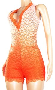 UPHILL FASHION short dress ORANGE on Tradesy