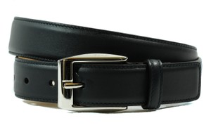 Gucci NWT GUCCI 336831 Square Buckle Leather Belt, Blue 80-32