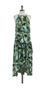 Maxi Dress by Parker Green Tropical Print Maxi