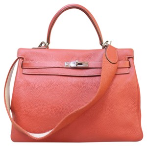 Hermès Kelly 35 Togo Satchel in tomato