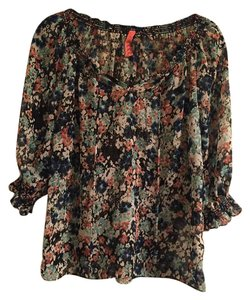 Eight Sixty Girly Work Top multi/ floral