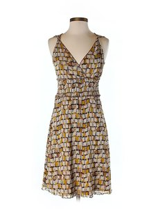 BCBGMAXAZRIA short dress Print Sweetheart Fit & Flare on Tradesy