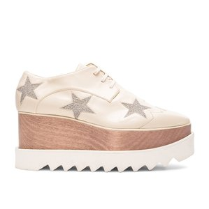 Stella McCartney Beige Platforms