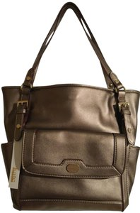 Kate Landry Imported Tote in Pewter (Bronze tone)