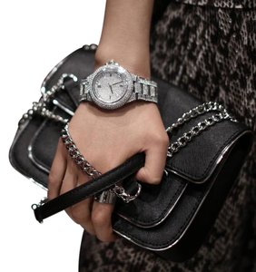 Michael Kors Collection Michael Kors Camille Crystal Encrusted Chronograph Watch