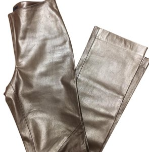 Ralph Lauren Boot Cut Pants Brown/Gold