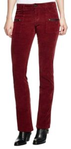 Sanctuary Clothing Boot Cut Pants Red