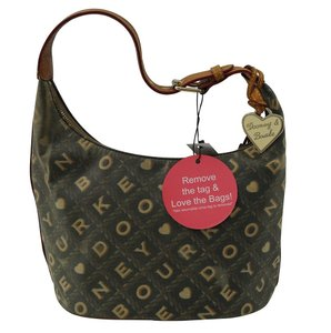 Dooney & Bourke & Euc Signature Hobo Bag