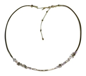 Alexis Bittar ALEXIS BITTAR Crystal Encrusted Choker Necklace Crystals Gold