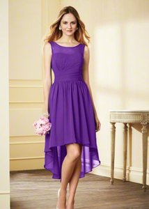 Alfred Angelo Purple 7928s Dress