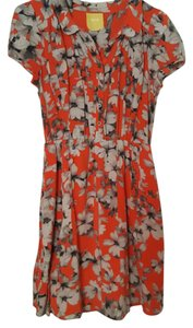 Anthropologie short dress Floral dress on Tradesy