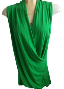 Vince Camuto Sleeveless Top Green