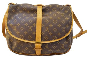 Louis Vuitton Lv Monogram Saumur 35 Shoulder Bag