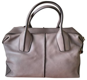 Tod's Satchel in Taupe/Gray