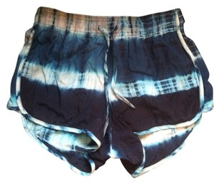 Rory Beca Shorts Blue Tye Dye