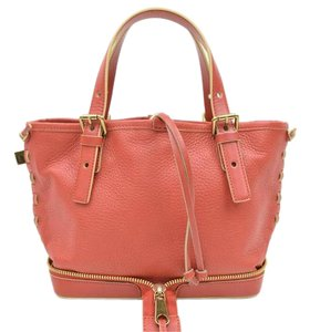 Chloé Chloe Handbags Leather Satchel in Pink