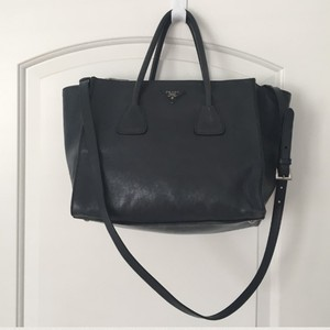 Prada Tote in Dark Blue