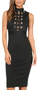 Wow Couture Date Party Pencil Bodycon Dress