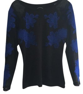 INC International Concepts Top black & blue