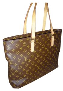 Louis Vuitton Cabas Tote in Brown