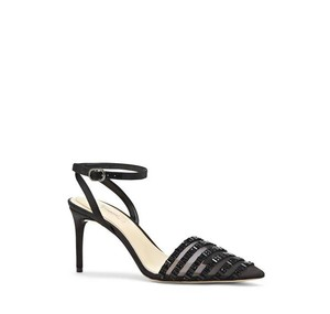 Vince Camuto Michael Embelished Mesh black Pumps