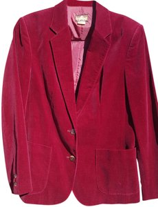 Toffee Wine Clothing Maroon Wine Maroon Blazer
