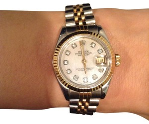 Rolex Ladies Stainless Steel/18K Gold Oyster Datejust with Jubilee Band