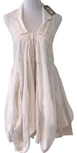 AllSaints short dress off white. on Tradesy