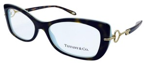 Tiffany & Co. Classic Heart Key Tortoise Brown Eyeglasses Frame TF 2106 8134