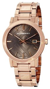 Burberry 100% NEW AUTHENTIC BURBERRY BU9005 ROSE GOLD LUXURY WATCH