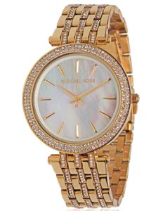Michael Kors BRAND NEW WOMENS MICHAEL KORS (MK3219) DARCI GLITZ GOLD DIAL WATCH