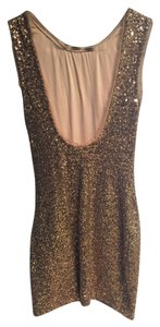 Ali Ro Sequin Backless Dress