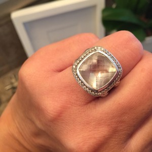 David Yurman David Yurman 100% Authentic Diamond,Silver and Prasiolite ring