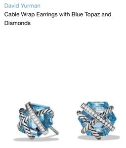 David Yurman David Yurman cable wrap earrings