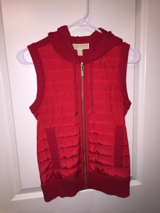Michael Kors Casual Comfortable Hooded Vest
