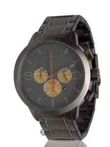 A|X Armani Exchange BRAND NEW MENS ARMANI EXCHANGE A|X (AX1279) GRAY IP CHRONOGRAPH WATCH