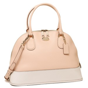 Coach Satchel Leather F34491 Shoulder Bag