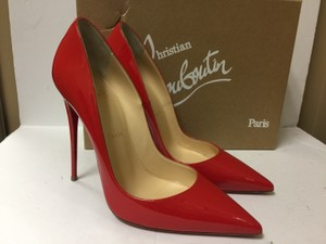 Christian Louboutin Heels Stiletto So Kate Patent Red Pumps