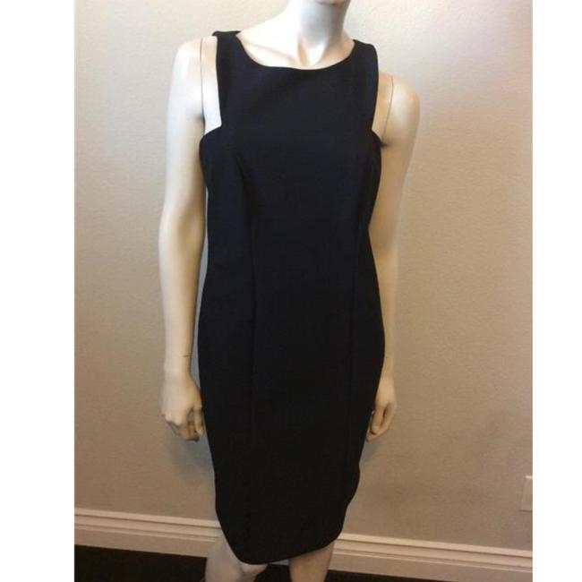 Item - Black Knee Length Night Out Dress Size 6 (S)
